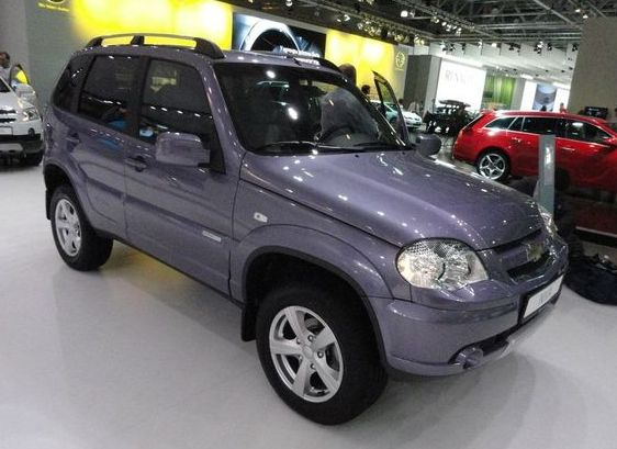Chevrolet Niva Special Edition 2010 года